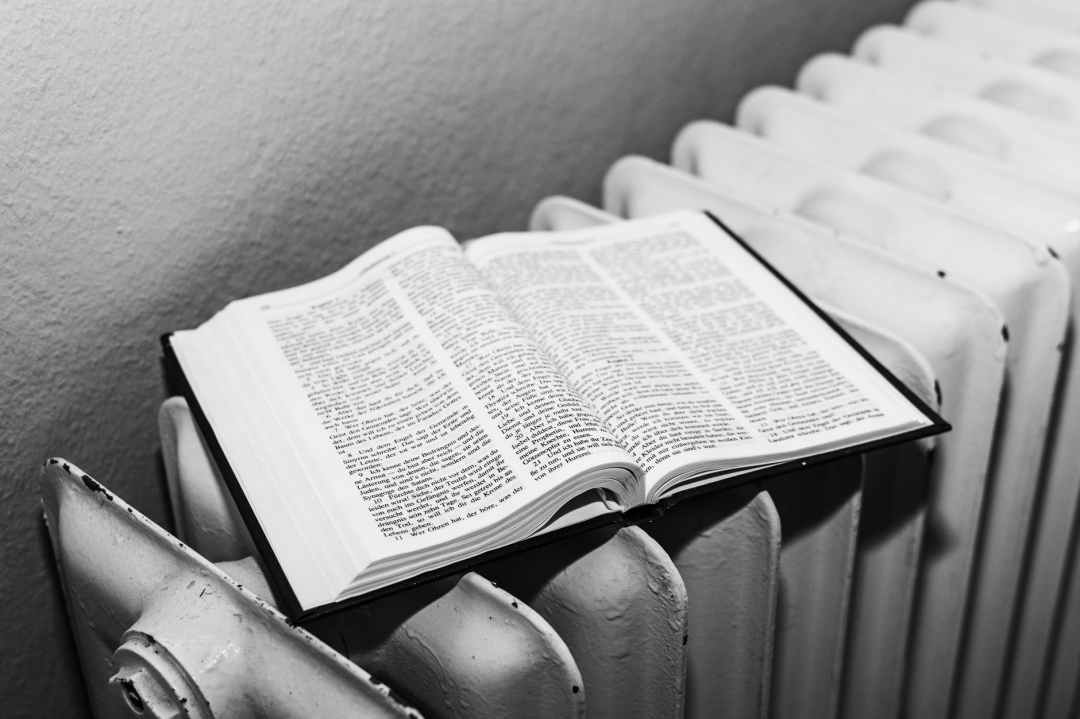 believe bible black and white book